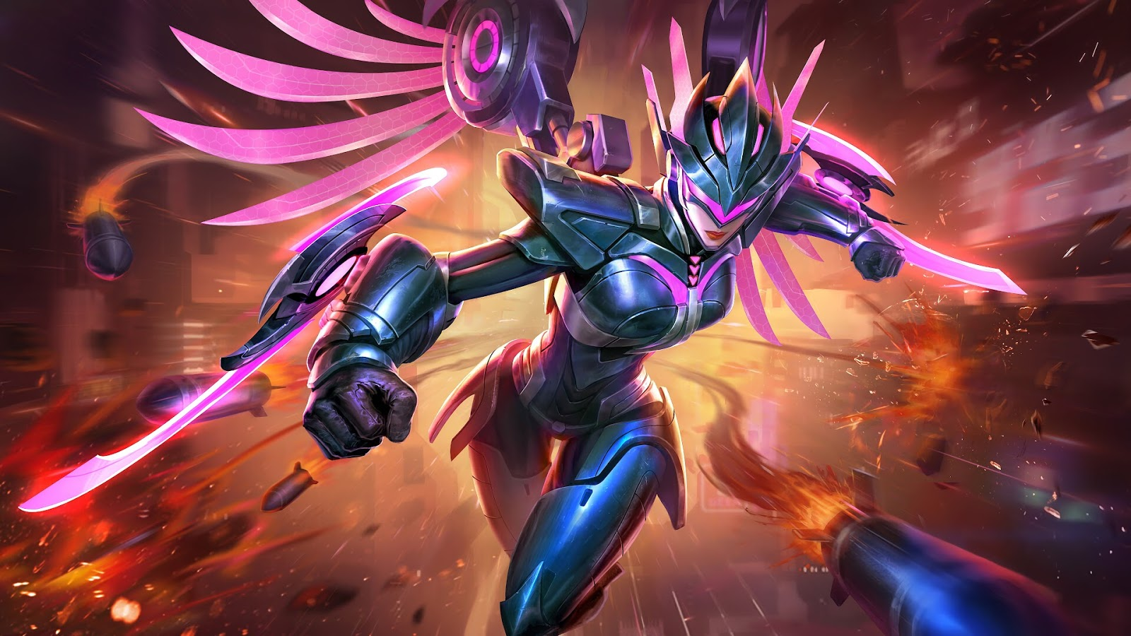 Wallpaper Karrie Hawkwatch Skin Mobile Legends HD for PC