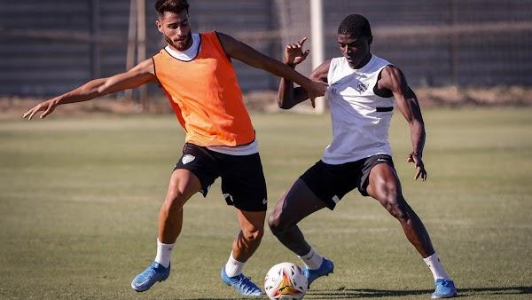 Málaga, Paulino vuelve al grupo y Julio es baja por un esguince