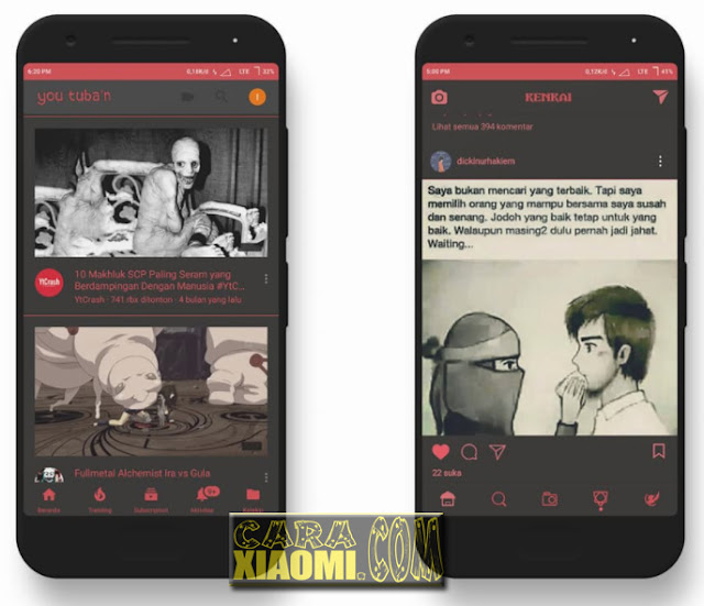 Download MIUI Theme Kenkai Mtz For Xiaomi Updated