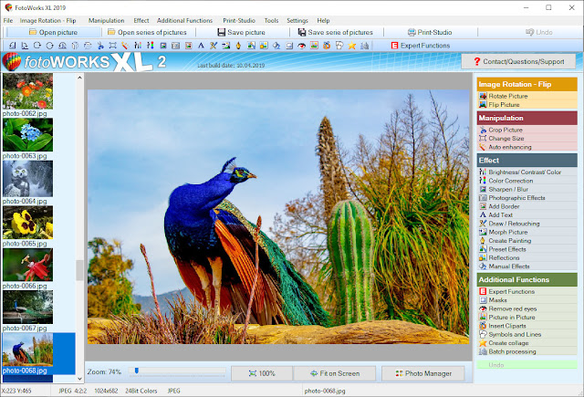 Picture editing software
