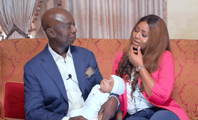 Regina Daniels and Her Husband, Ned Nwoko Officially Reveal Their Son's Face (See Photos & Video)