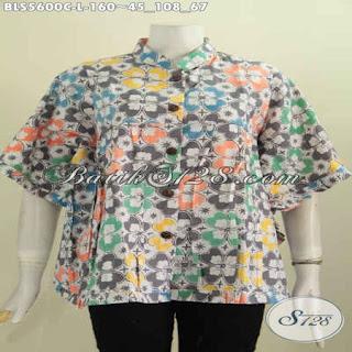 model blouse batik modern wanita