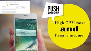 Push Notifications - Formato publicitario monetización web
