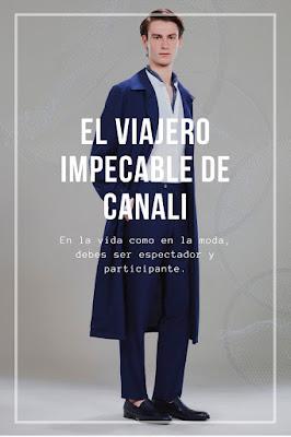 El viajero impecable de Canali