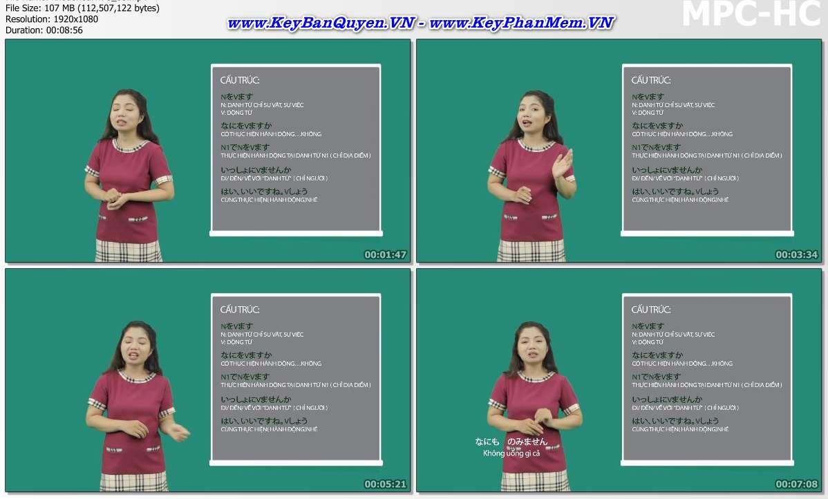 Video giáo trình Học tiếng Nhật ko khó như bạn nghĩ.