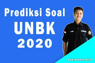 Prediksi Soal dan Jawaban UNBK Tahun 2020