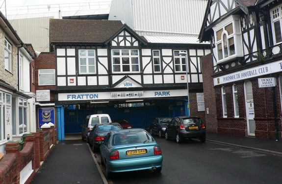 These cars might be charged for parking outside Fratton Park
