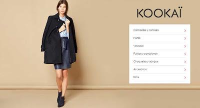 oferta ropa para mujer marca Kookai
