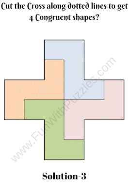 Cut the Cross Puzzle Solution-3