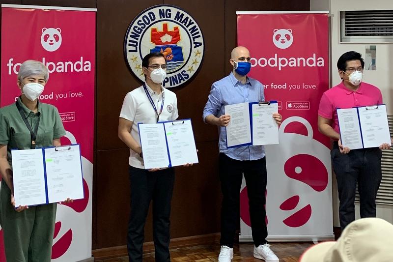 FoodPanda Food Delivery Manila