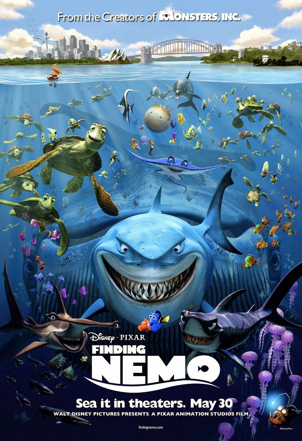 Review dan Sinopsis Film Finding Nemo (2003)