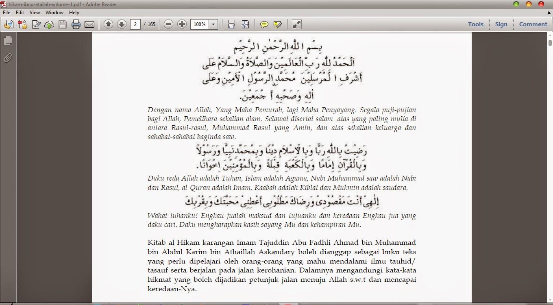 TERJEMAHAN FUSUS AL HIKAM PDF DOWNLOAD