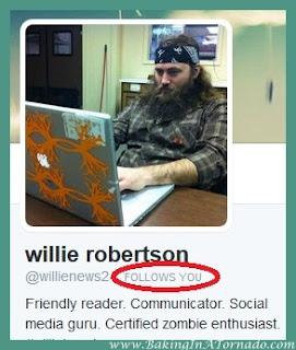 New twitter follower . . . or not | www.BakingInATornado.com | #humor #funny