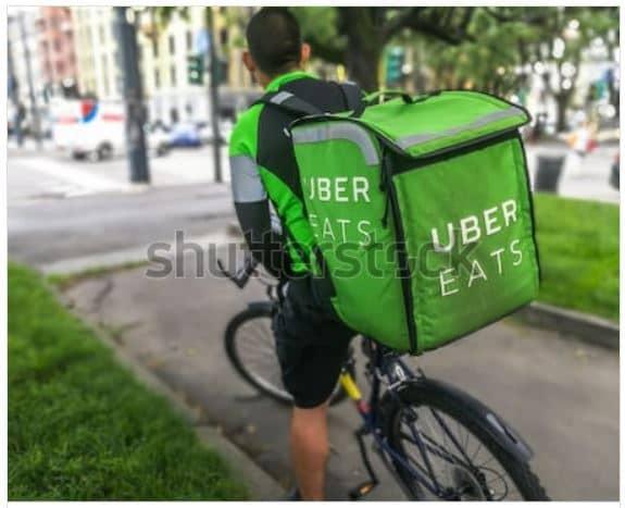 Rider Uber Eats