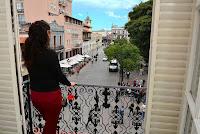 Vista desde el Hotel Colonial de Salta