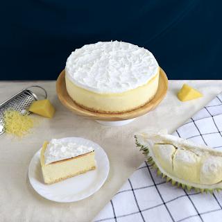 Cách làm cheesecake sầu riêng Durian cheesecake 2