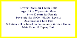 Lower Division Clerk Jobs in Bihar Public Service Commission