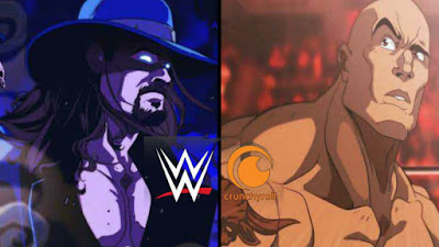Anime Smackdown? WWE dan Crunchyroll Bekerjasama Untuk Membuat Projek Anime