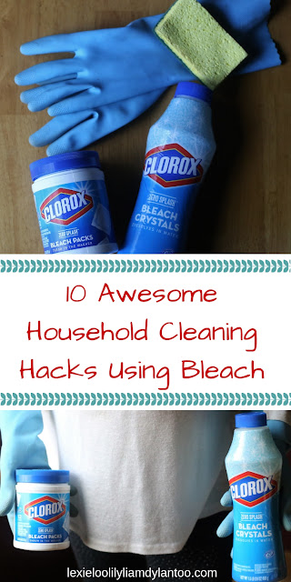 10 Awesome Household Cleaning Hacks Using Bleach #cleaning #cleaninghacks