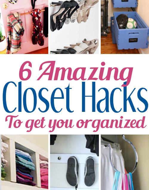 diy ideas functional clever closet organization and hacks