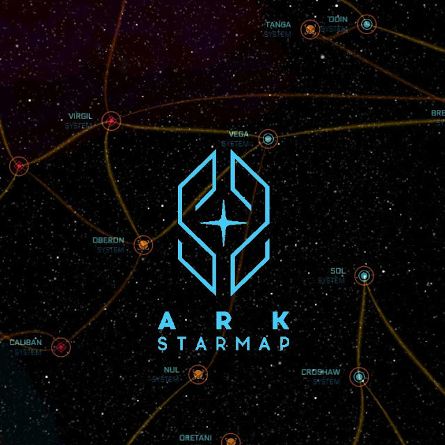 ARK StarMap (Star Citizen) Wallpaper Engine