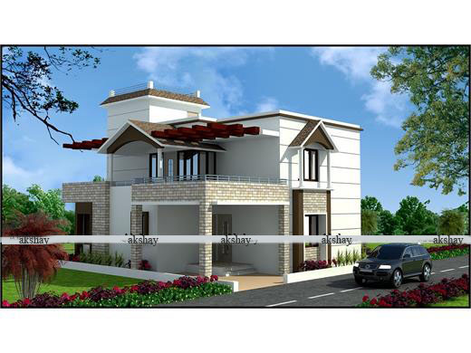 Dapodi Pune Row House Design