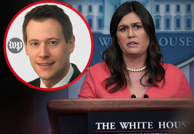 WashPost Fact Check: 'Wringing' Sarah Sanders' Neck Different from 'Choking' Her
