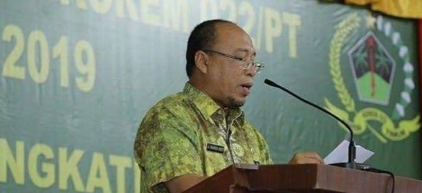 Mulai Hari Ini Drs.John Hardi Nasution Resmi Menjabat Sebagai Plh Bupati Asahan