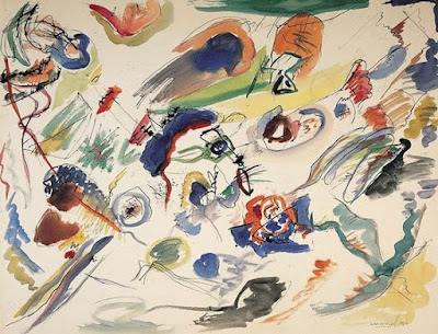"Kandinsky , ""abstract aquarelle"""