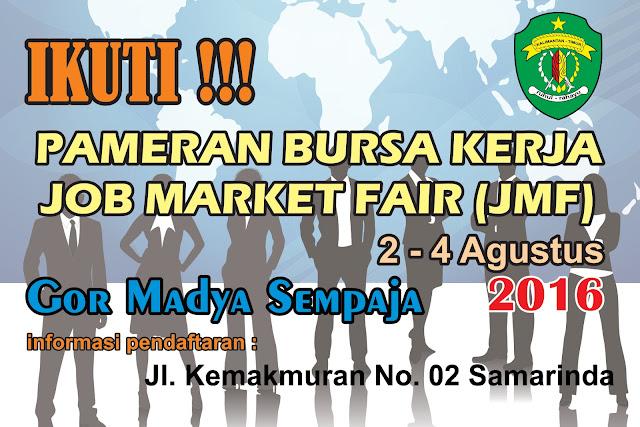 Job Fair di Samarinda pameran bursa kerja JMF