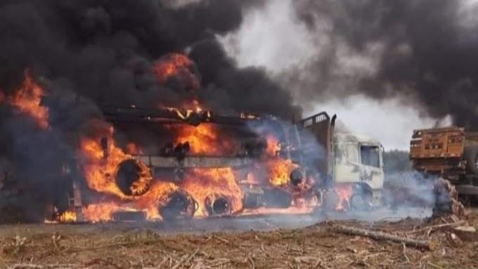 CHILE: el ataque en Carahue violento de Mapuches