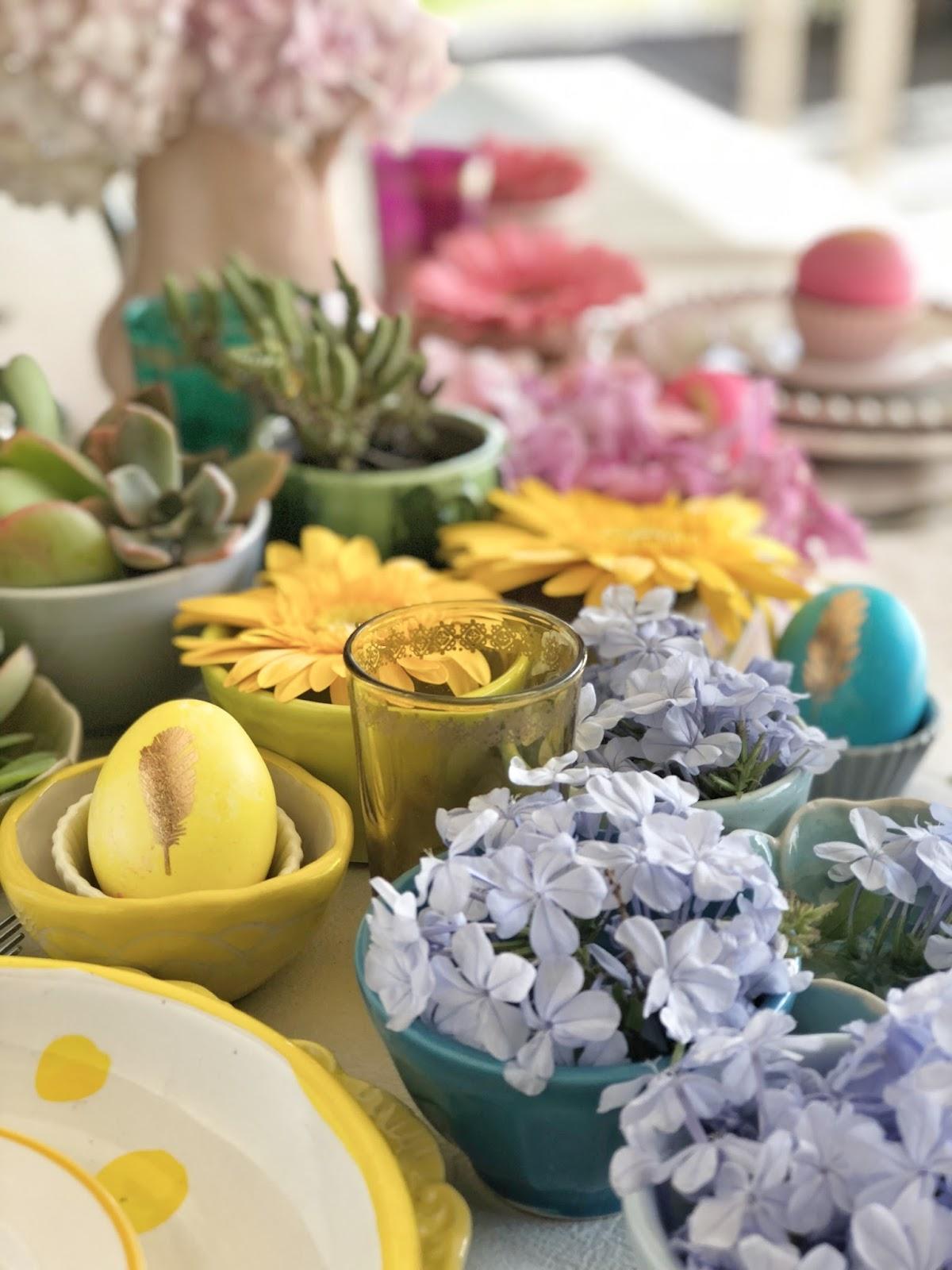 Huevos de Colores DIY
