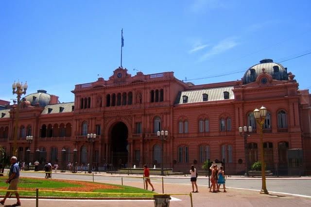 La Casa Rosada, sede de la Presidencia argentina
