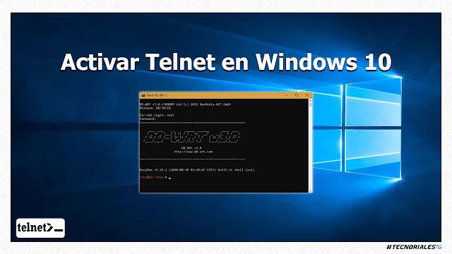 telnet windows 10