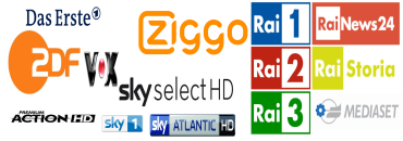 SKY Germany RTL ITALY RAI Premium Cinema NL SBS Kodi