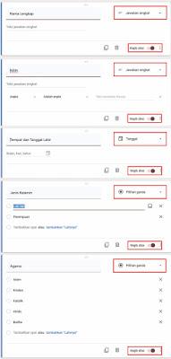 Cara Membuat Formulir Online