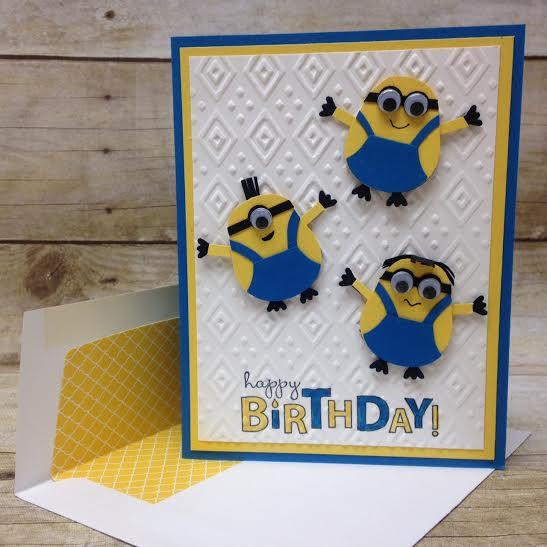 Minion Birthday Cake Kits