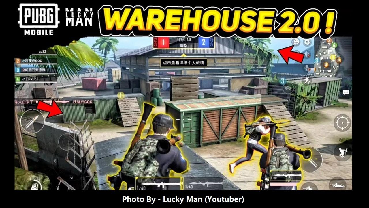 PUBG MOBILE New Gameplay WAREHOUSE TDM