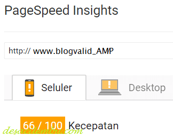 Cara Edit Blog Valid AMP HTML pada PageSpeed Insights