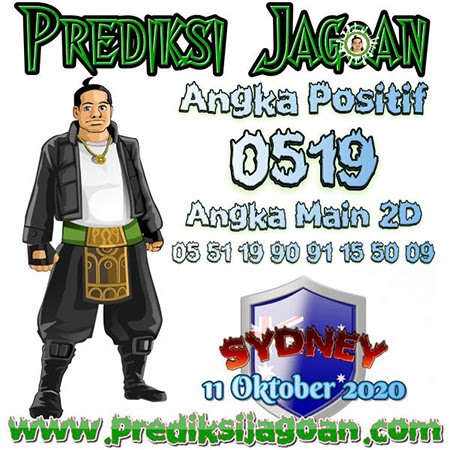 Prediksi Jagoan Sidney Minggu 11 Oktober 2020