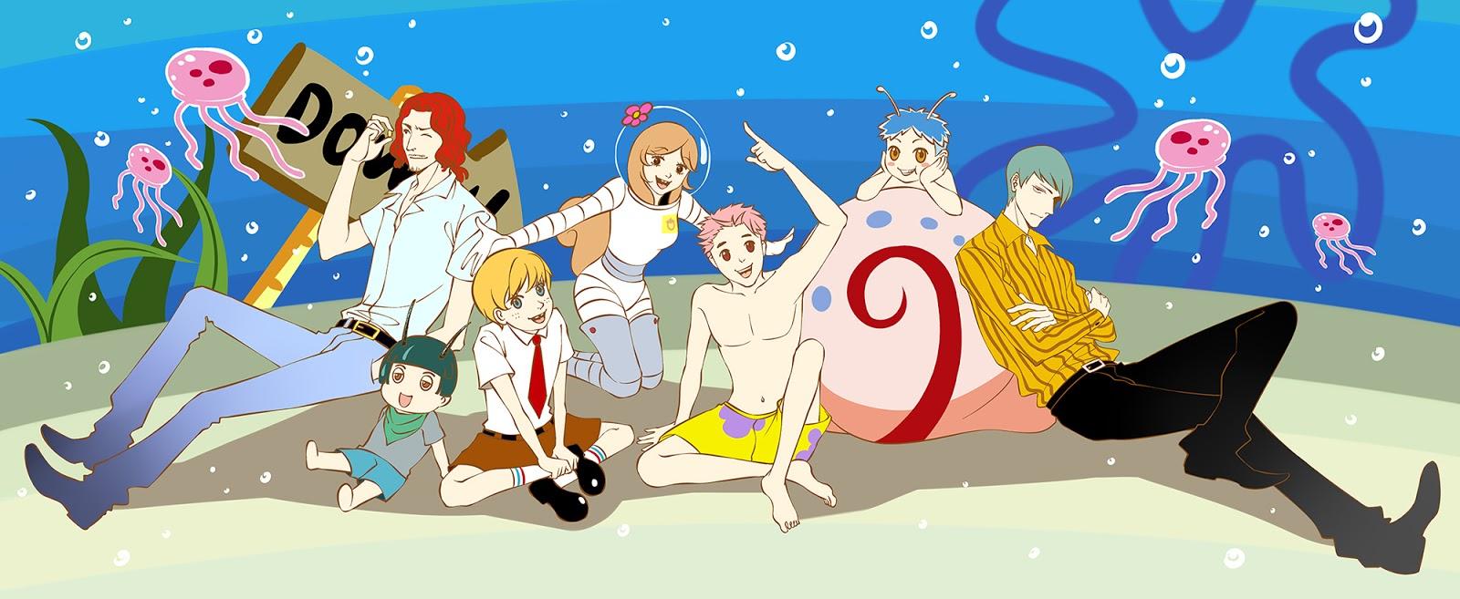 GAMEZONE: Spongebob squarepants characters