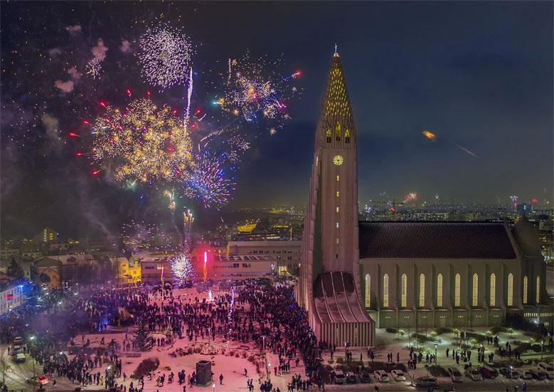 ano nuevo fin de Reykjavik islandia