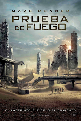 Maze Runner The Scorch Trials 2015 DVD R1 NTSC Latino