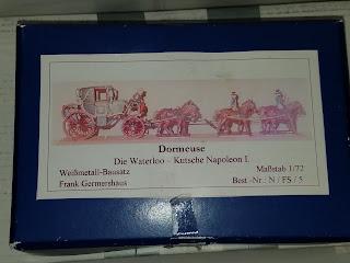 Dormeuse - die Kutsche von Napoleon Bonaparte in Scale 1/72 - Donation for Strays in Romania / Tom Pedall