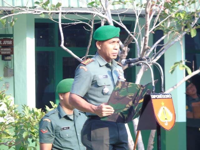 KodimKaranganyar - Wujud Cinta Kita Kepada Tanah Air, Kodim 0727 Karanganyar Gelar Upacara Bendera