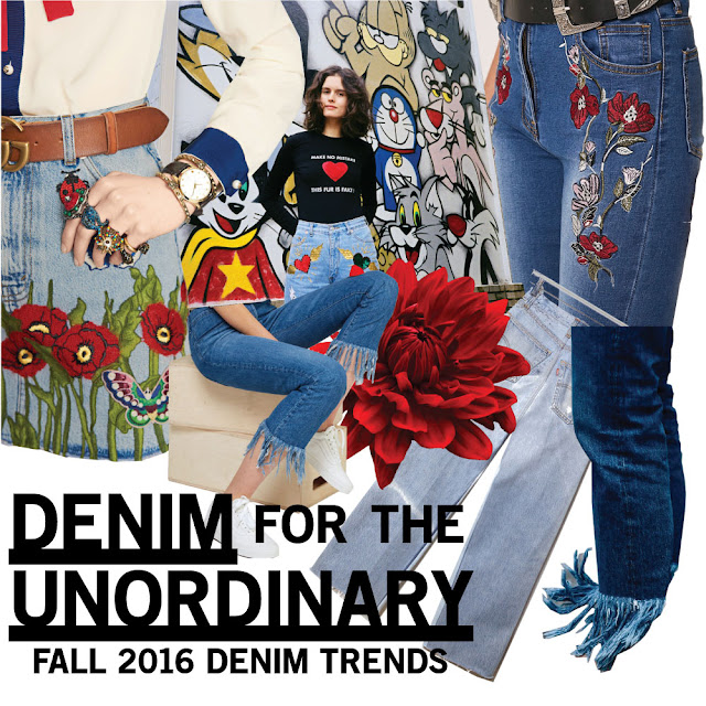 Fall/Winter 2016 Denim Trends