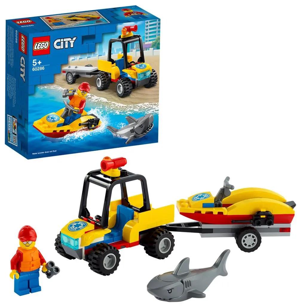 レゴ(LEGO) シティ ビーチレスキュー 60286