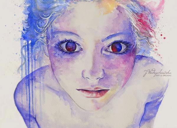 Watercolor Paintings By Joanna Wedrychowska