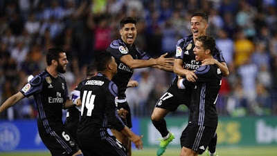 Real Madrid wins LaLiga Title 2017