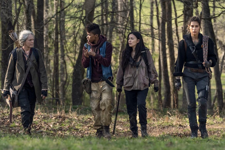 Carol, Rosita, Magna y Kelly buscan sus caballos perdidos en The Walking Dead 11x03